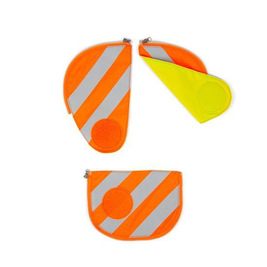 Ergobag Pack Sicherheitsset Orange mit Reflektorstreifen 3tlg.