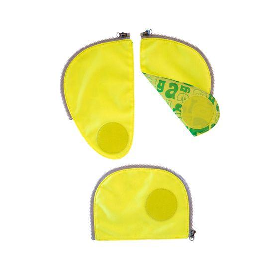Ergobag Pack Sicherheitsset Gelb Fluoreszierende Zip-Flächen 3tlg.