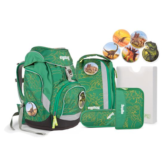 Ergobag Pack DinosauriBär Schulrucksack Set 6tlg.