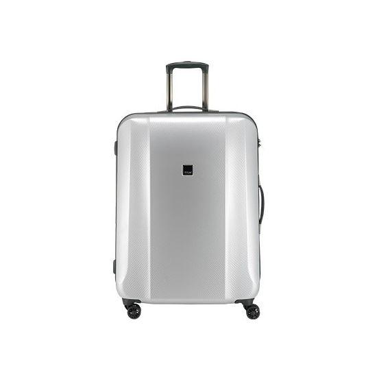 TITAN - Koffer / Trolley L - 4 Rollen Xenon DeLuxe  360° - Silver