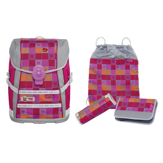 McNeill ERGO Light Move Cutie Schulranzen Set 4tlg.
