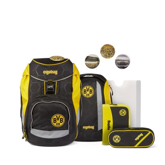 Ergobag Pack Borussia DortmundLimited Edition Schulrucksack Set 6tlg.