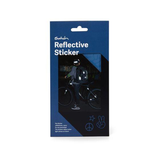 Satch Reflective Sticker Blue