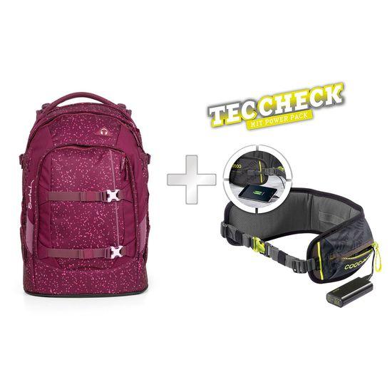 Satch Pack Berry Bash Schulrucksack mit TecCheck-Hüftgurt