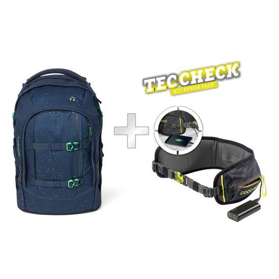 Satch Pack Space Race Schulrucksack mit TecCheck-Hüftgurt
