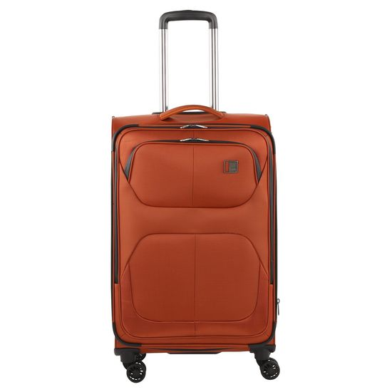 TITAN - Koffer / Trolley M - 4 Rollen Nonstop 360° - Orange