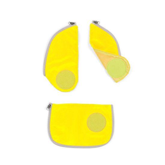 Ergobag Cubo Sicherheitsset Gelb Fluoreszierende Zip-Flächen 3tlg.