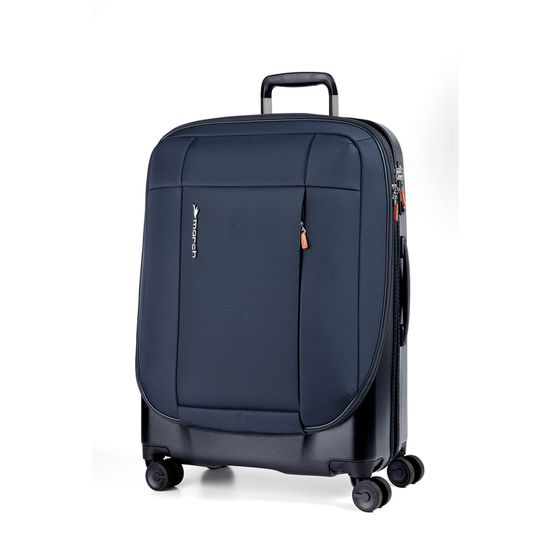 March Phaeton Navy 4 Doppel-Rollen Trolley L 76cm