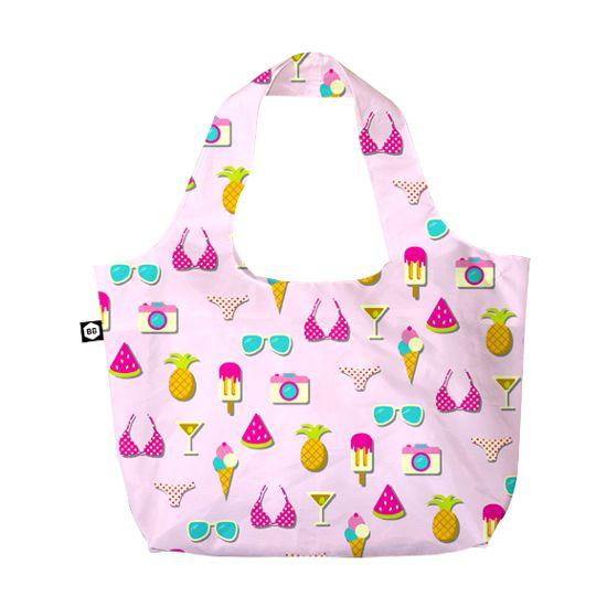 BG Berlin Eco Bag Pink Summer