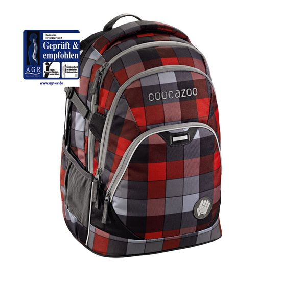 Coocazoo EvverClevver Red District Schulrucksack