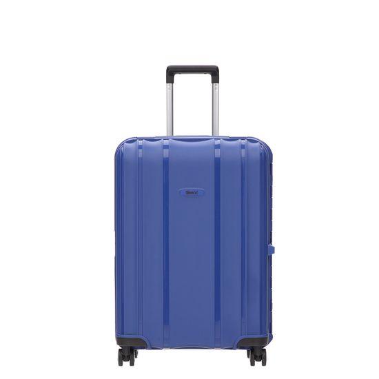 Stratic - Koffer / Trolley - Safe - 4 Rollen - M - Blau