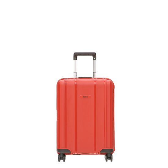 Stratic - Koffer / Trolley - Safe - 4 Rollen - S - Rot