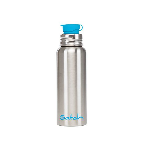 Satch Trinkflasche 0,75L Edelstahl Alu-Flasche