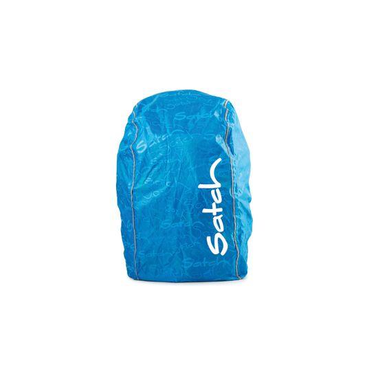 Satch Regencape / Regenhülle blau