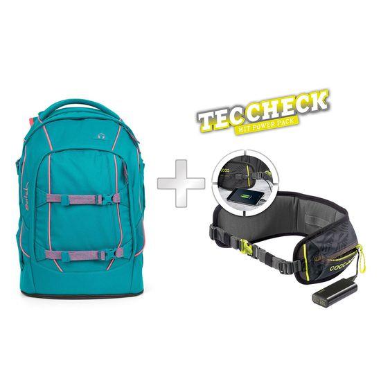 Satch Pack Ready Steady Schulrucksack mit TecCheck-Hüftgurt