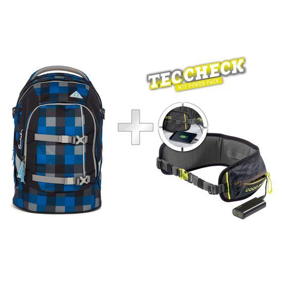 Satch Pack Airtwist Schulrucksack mit TecCheck-Hüftgurt