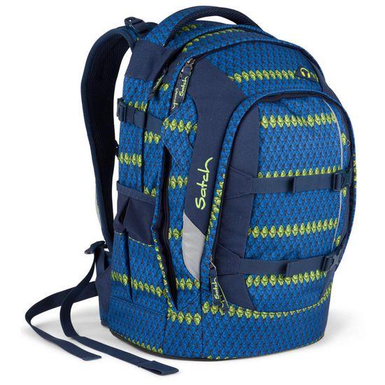 Satch Pack feat. My Boshi-Schulrucksack-Blue Boshi inkl. Häkel-Kit