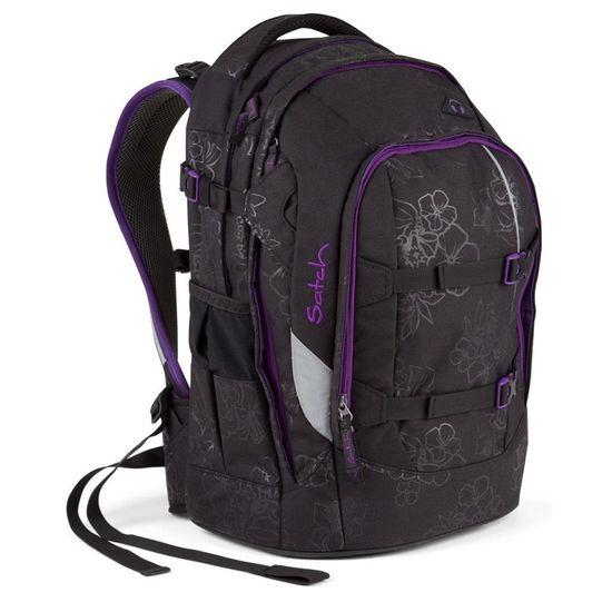 Satch Pack Purple Hibiscus Schulrucksack