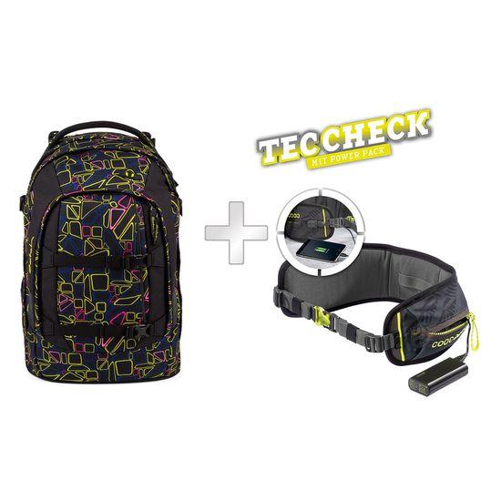 Satch Pack Disco Frisco Schulrucksack mit TecCheck-Hüftgurt