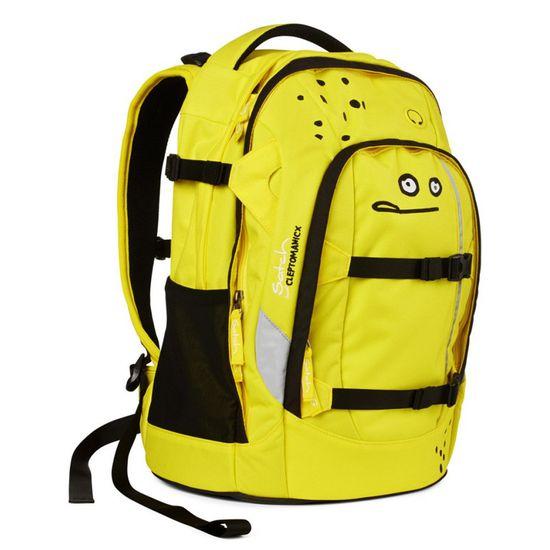 Satch Pack Cleptomanicx Yellow Lemon Schulrucksack