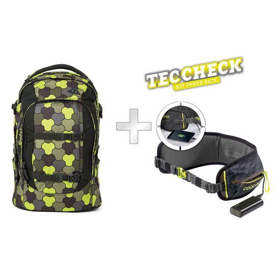 Satch Pack Jungle Flow Schulrucksack mit TecCheck-Hüftgurt