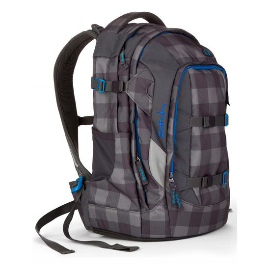Satch Pack Checkplaid Schulrucksack