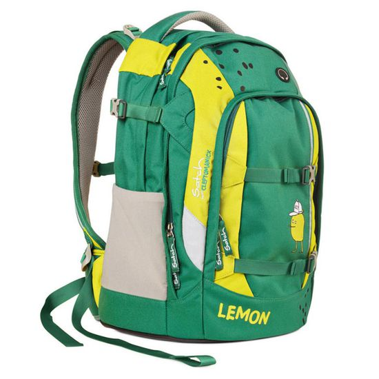 Satch Pack Cleptomanicx Green Lemon Schulrucksack