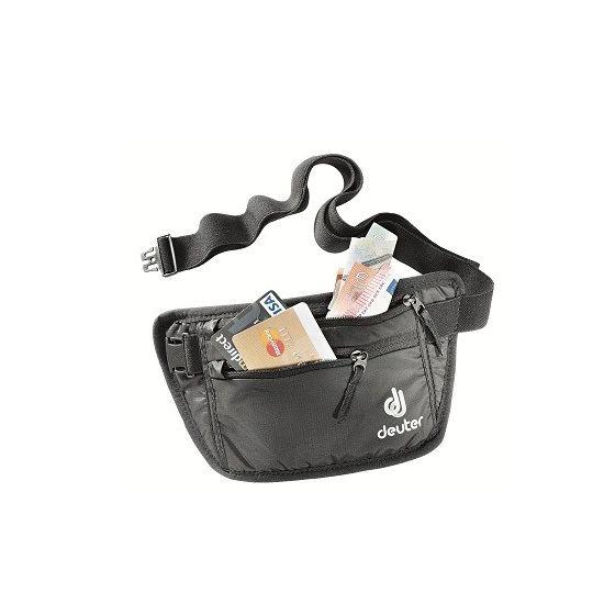 Deuter Belt I Black Bauchtasche Hüfttasche