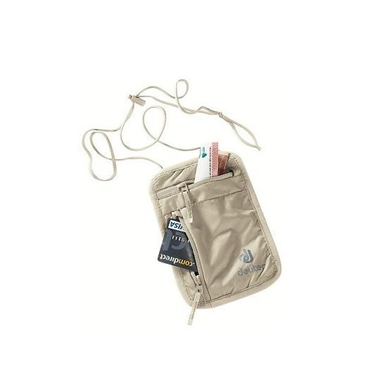 Deuter Security Wallet I Brustbeutel Sand