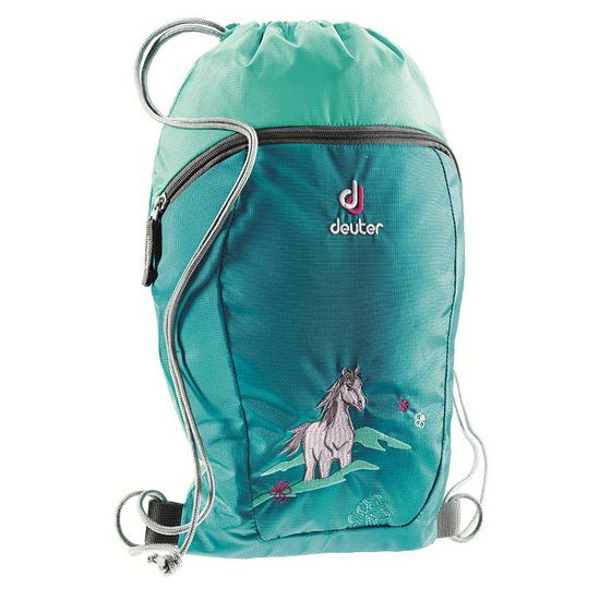 Deuter - Sport/- Turnbeutel Sneaker Bag - Petrol Horse