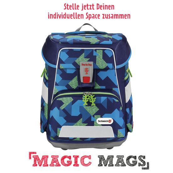 Step by Step Space Schleich T-Rex Schulranzen Set 5tlg. mit Magic Mags nach Wahl