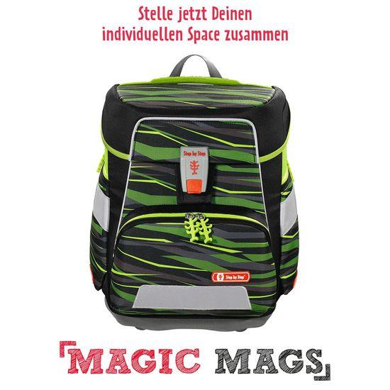 Step by Step Space Wild Cat Schulranzen Set 5tlg. mit Magic Mags nach Wahl