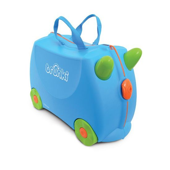 Trunki Terrance Blue Kinderkoffer