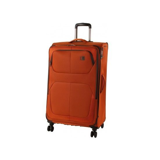 TITAN - Koffer / Trolley L - 4 Rollen Nonstop 360° - Orange