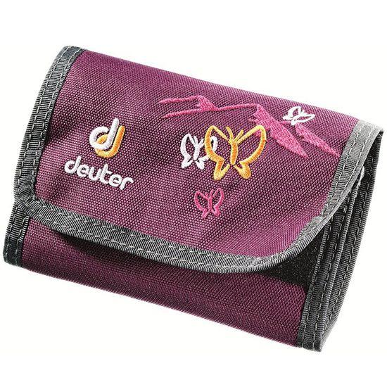 Deuter Wallet Blackberry Butterfly Geldbeutel